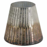 Image 1 - Grey And Bronze Ombre Large Conical Candle Holder