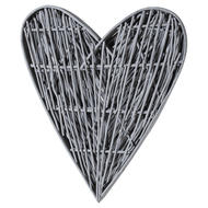 Image 3 - Grey Willow Branch Heart