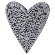 Image 1 - Grey Willow Branch Heart