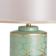 Image 2 - Harley Bee Table Lamp With Double Layer Shade