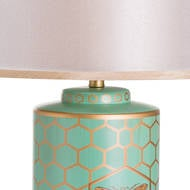 Image 2 - Harley Bee Table Lamp With White Shade