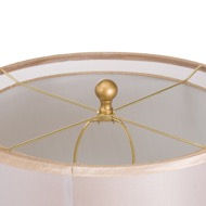 Image 3 - Harley Bee Table Lamp With White Shade