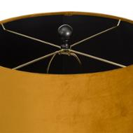 Image 3 - Harlow Bee Table Lamp With Mustard Shade