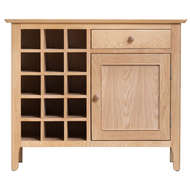 Image 3 - Harlow Collection Wine Cabinet