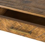 Image 2 - Havana Gold 2 Drawer Console Table