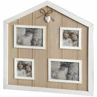 Hearts Collection Home Shape Multi Frame