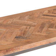 Image 2 - Hoxton Collection Console Table With Parquet Top
