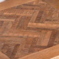 Image 2 - Hoxton Collection Side Table With Parquet Top