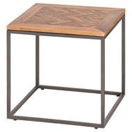 Image 1 - Hoxton Collection Side Table With Parquet Top