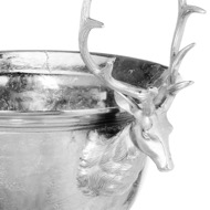 Image 2 - Large Aluminium Stag Champagne Cooler on Stand