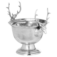 Image 1 - Large Aluminium Stag Champagne Cooler on Stand
