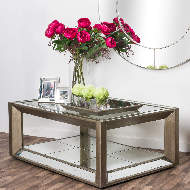 Image 4 - Large Augustus Mirrored Coffee Table