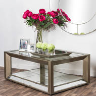 Image 5 - Large Augustus Mirrored Coffee Table