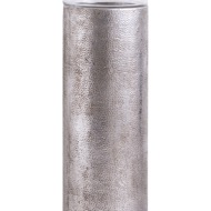 Image 2 - Large Evi Antique Silver Hurricane Candle Stand