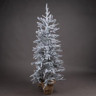 Image 1 - Large Frosted Mini Tree