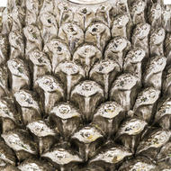 Image 2 - Large Silver Pinecone Candl Holder