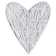 Image 3 - Large White Willow Branch Heart