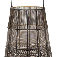 Image 2 - Large Wire Glowray Conical Lantern