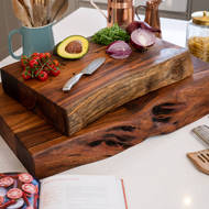 Image 3 - Live Edge Collection Large Pyman Chopping Board