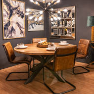 Image 4 - Live Edge Collection Large Round Dining Table