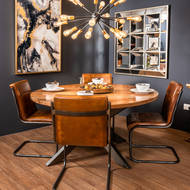 Image 5 - Live Edge Collection Large Round Dining Table
