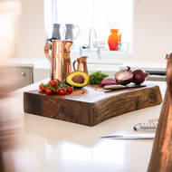 Image 3 - Live Edge Collection Pyman Chopping Board