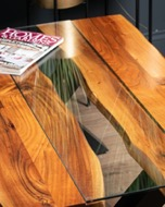 Image 4 - Live Edge Collection River Coffee Table