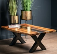 Image 5 - Live Edge Collection River Coffee Table
