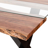 Image 2 - Live Edge Collection River Dining Table