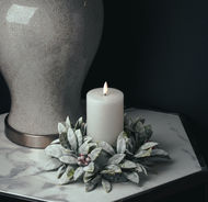 Image 2 - Luxe Collection Natural Glow 3x6 LED White Candle