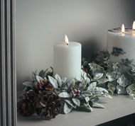 Image 3 - Luxe Collection Natural Glow 3x6 LED White Candle