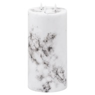 Image 1 - Luxe Collection Natural Glow 6x12 Marble Effect LED Candle
