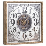 Image 1 - Mirrored Moving Mechanism Wall Clock