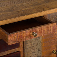 Image 5 - Multi Draw Reclaimed Industrial Chest With Brass Handle