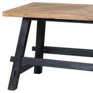 Image 3 - Nordic Collection Dining Table Bench