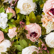 Image 2 - Artificial Peony Flower Wall