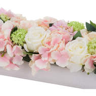 Image 2 - Pink Dahlia Table Runner