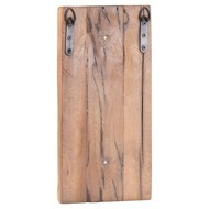 Image 2 - Reclaimed Wood Wall Sconce