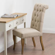 Image 8 - Roll Top Dining Chair With Ring Pull