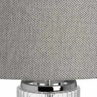 Image 3 - Roma Glass Table Lamp