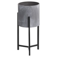 Image 2 - Set Of Two Concrete Effect Table Top Planter