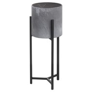Image 3 - Set Of Two Concrete Effect Table Top Planter