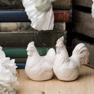 Image 4 - Set of Two Salt and Pepper Hens