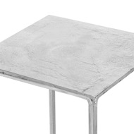 Image 2 - Small Cast Silver Plant Stand