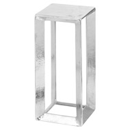 Image 1 - Small Cast Silver Plant Stand