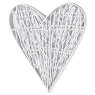 Image 3 - Small White Willow Branch Heart