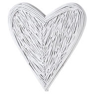 Image 1 - Small White Willow Branch Heart