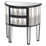 Image 1 - Soho Collection 2 Drawer Side Table
