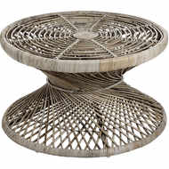 The Bali Collection Full Rattan Twisted Coffee Table
