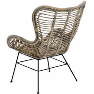 Image 2 - The Bali Collection Full Rattan Wing Chair
